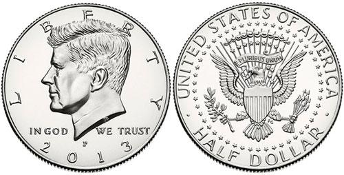 2013 Kennedy Half Dollar