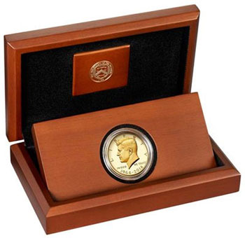 2015 Kennedy Half Dollar Gold Proof Coin